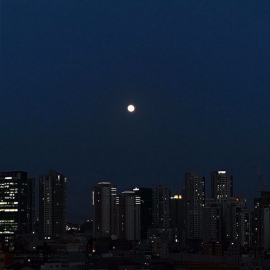 Goodnight  #night  #mypicture  #photography  #city  #moon
