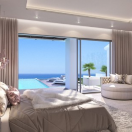 Enjoy the direct pool access from your bedroom and watch the sunrise from your private infinity pool. Or sit back and appreciate the most breath-taking sunsets from your stunning sunken fire pit and seating area.  https://www.properbuz.com/view-details?property-id=beautiful-frontline-golf-villas-for-sale-in-new-golden-mile-estepona-costa-del-sol~267180
